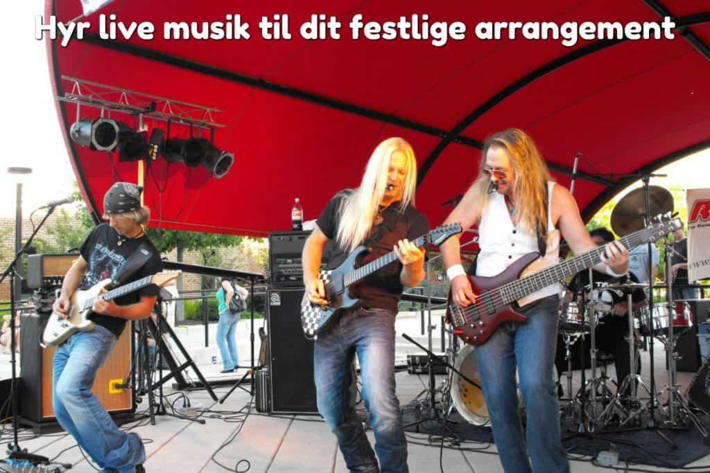 Hyr live musik til dit festlige arrangement