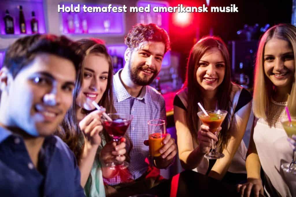 Hold temafest med amerikansk musik